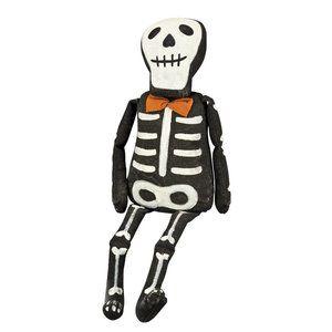 """21"""" Katherines Plush Skeleton Halloween Doll Decor"""